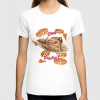 pasta T-shirts featuring Que Pasta? by themattpeterson