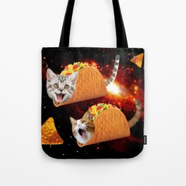Taco Cats Space Tote Bag
