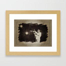 Roy Hargrove, aux antipodes du jazzman intégriste Framed Art Print