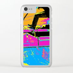 High-Flyin' Scooter Champ Clear iPhone Case