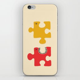 Puzzle Monster iPhone Skin