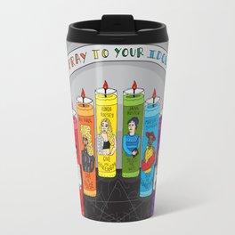 Pray To Your Idols Travel Mug