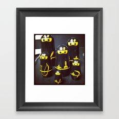 ninjas Framed Art Print