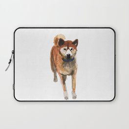 watercolor dog vol 8 shiba inu Laptop Sleeve