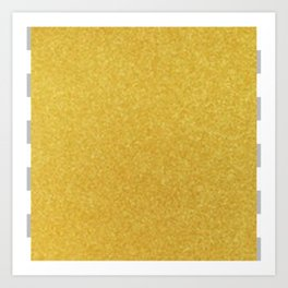 Gold Graphic Art Print