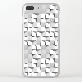 [squared²] Clear iPhone Case
