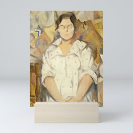 Rafael Barradas - Portrait of Pilar, 1919 Mini Art Print