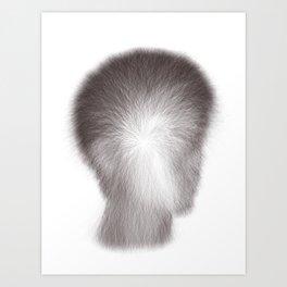 Algorithmic Portrait: Calvin Art Print