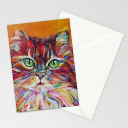 Big fat cat Stationery Cards