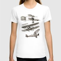 airplanes T-shirts featuring airplanes by Кaterina Кalinich