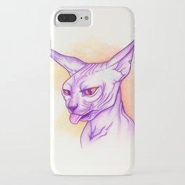 Sphynx cat #02 iPhone Case