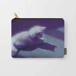 Melancholy Cat Carry-All Pouch