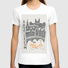 Amsterdam Cityscape T-shirt