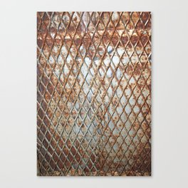 Rusty Grate Canvas Print