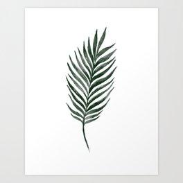 Palm Branch Art Art Print