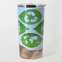 recycling eco concept Travel Mug