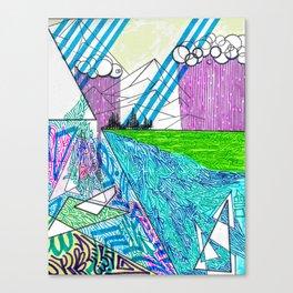 landscape of wonder Canvas Print
