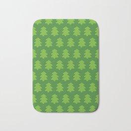 Evergreen Forest Pattern Bath Mat