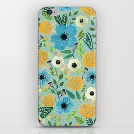 Luova - blue iPhone Skin
