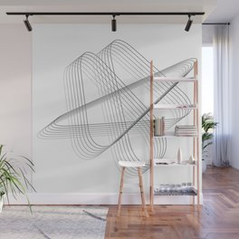 Neverending lines Wall Mural