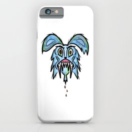 Headless Monster Bunny iPhone Case