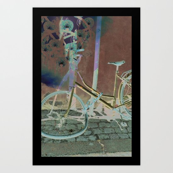 Melting Away Art Print