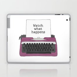 Watch What Happens Laptop & iPad Skin