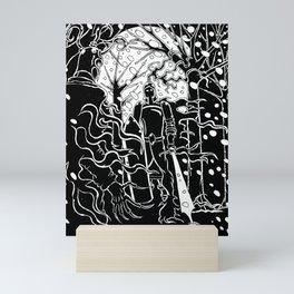 Krampus Vs. Saint Nicholas Mini Art Print