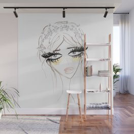 Country Girl Wall Mural