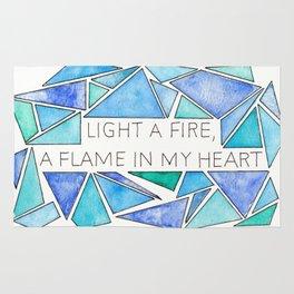 Light a Fire Rug