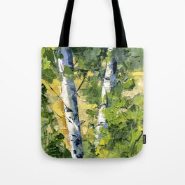 Aspens - Ready to Turn Yellow... Tote Bag