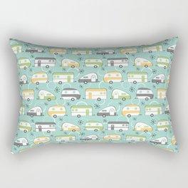 Happy Campers Rectangular Pillow