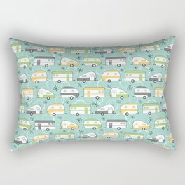 Happy Campers Rectangular Pillow