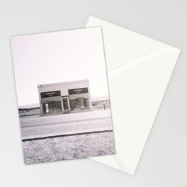 PradaMarfa - Black and White Version Stationery Cards