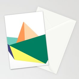 Fune, original colours on white Stationery Cards