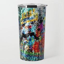 abstract   hj Travel Mug