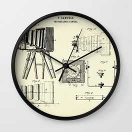 Photographic Camera-1885 Wall Clock