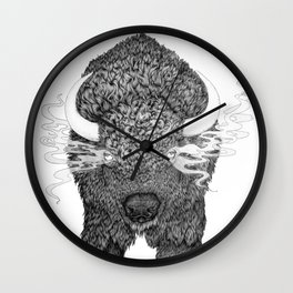The Ghosts of Our Fathers Wall Clock