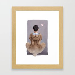 On Love: Yuuri Framed Art Print