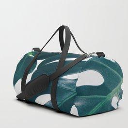 Monstera Minimal Duffle Bag