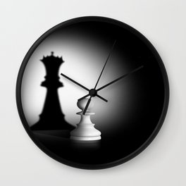 Pion Chess Wall Clock