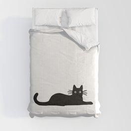 Black Cat(s) Comforters