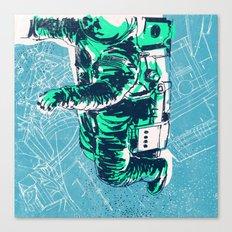 OrbitalFleets Crew Series: No.2 Canvas Print