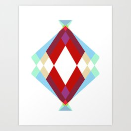 Lucky Diamonds Art Print