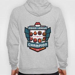 Indigo League Champion - Red Version Hoody