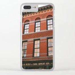 Soho XV Clear iPhone Case