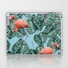 Whimsical Flamingo Pattern #society6 #decor #buyart Laptop & iPad Skin