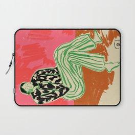 CALM WOMAN PORTRAIT Laptop Sleeve