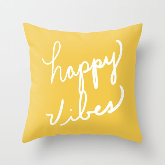 Happy Vibes Yellow by lisaargyropoulos