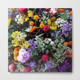 Flower Bouquet Metal Print